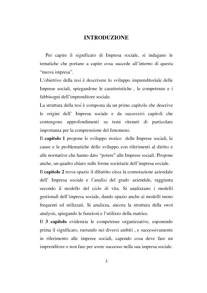 Anteprima della tesi: Valutazione delle competenze nelle imprese sociali, Pagina 2