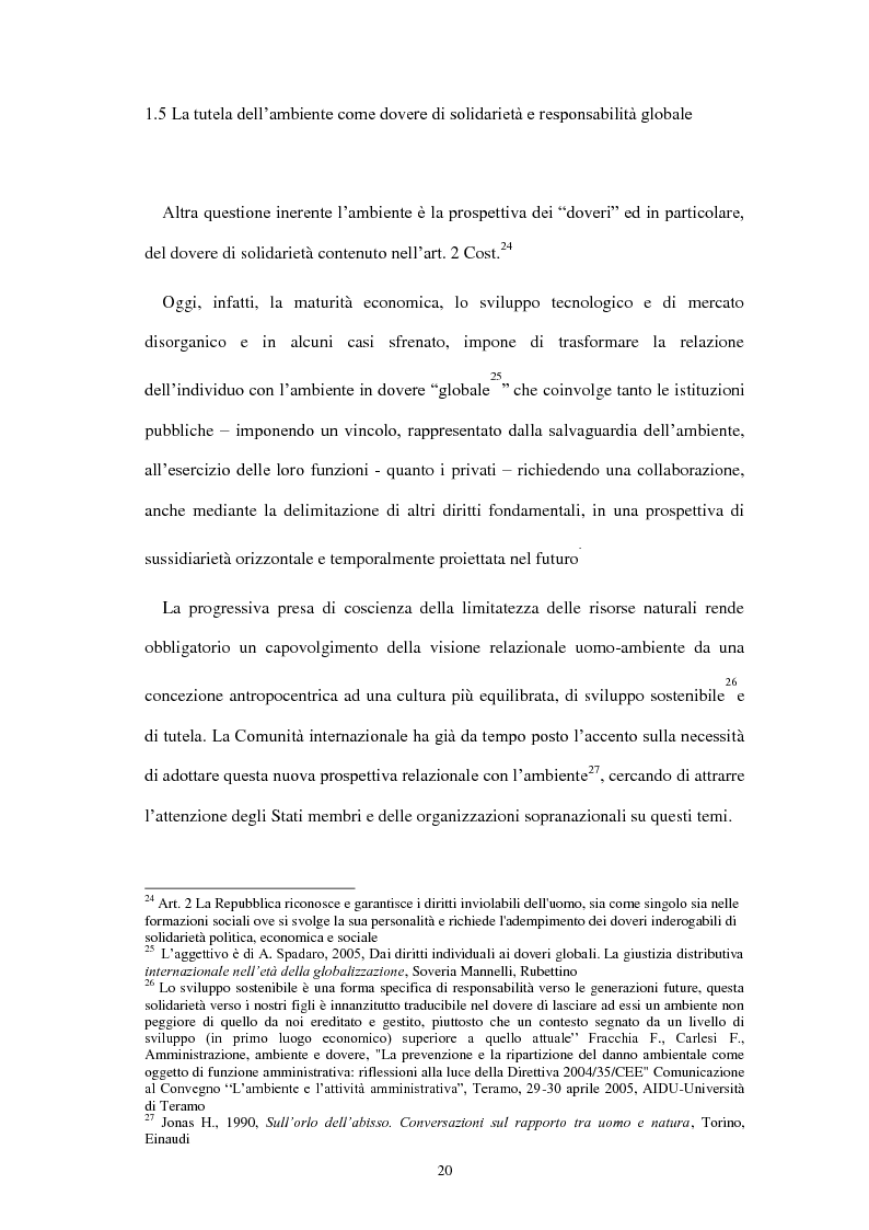 Anteprima della tesi: Partecipazione e accesso dei cittadini all'informazione ambientale per una democrazia ambientale partecipata?, Pagina 11