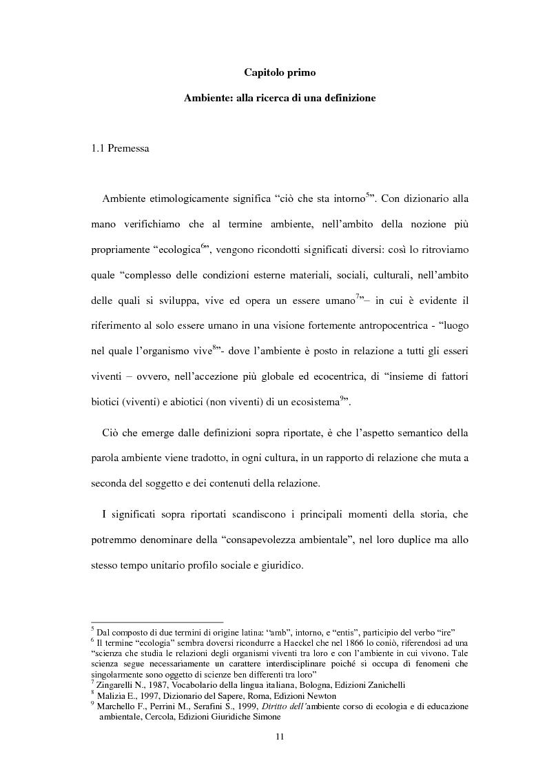 Anteprima della tesi: Partecipazione e accesso dei cittadini all'informazione ambientale per una democrazia ambientale partecipata?, Pagina 2