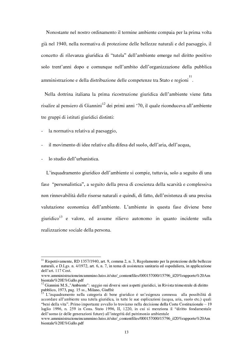 Anteprima della tesi: Partecipazione e accesso dei cittadini all'informazione ambientale per una democrazia ambientale partecipata?, Pagina 4