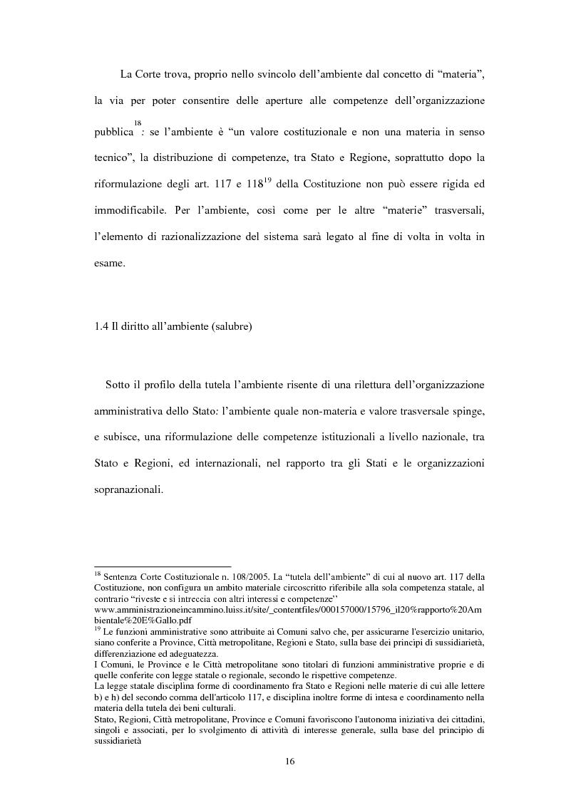 Anteprima della tesi: Partecipazione e accesso dei cittadini all'informazione ambientale per una democrazia ambientale partecipata?, Pagina 7