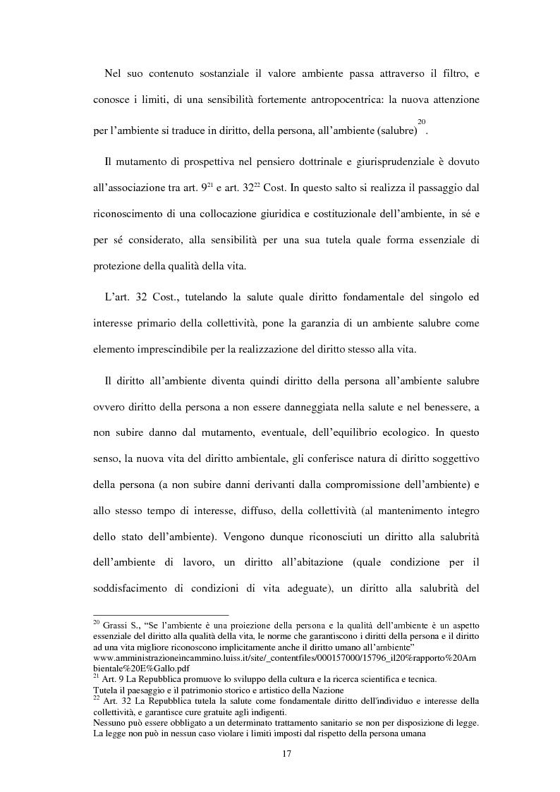 Anteprima della tesi: Partecipazione e accesso dei cittadini all'informazione ambientale per una democrazia ambientale partecipata?, Pagina 8