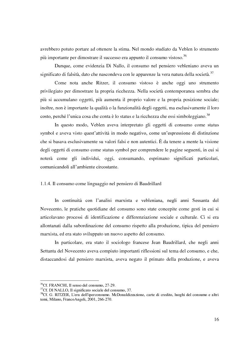 Anteprima della tesi: Le pratiche di consumo degli adolescenti e dei giovani italiani nelle ricerche pubblicate dal 2000 al 2009, Pagina 10