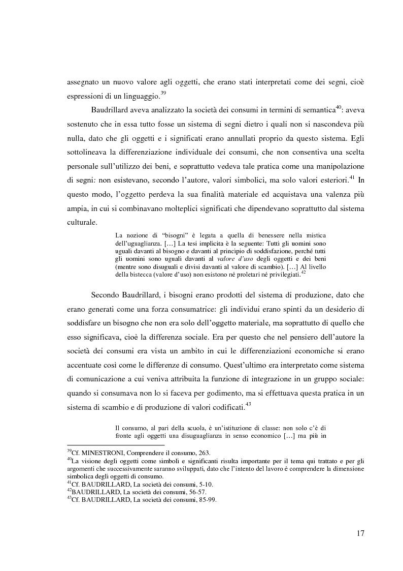 Anteprima della tesi: Le pratiche di consumo degli adolescenti e dei giovani italiani nelle ricerche pubblicate dal 2000 al 2009, Pagina 11