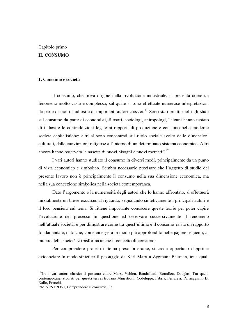 Anteprima della tesi: Le pratiche di consumo degli adolescenti e dei giovani italiani nelle ricerche pubblicate dal 2000 al 2009, Pagina 2