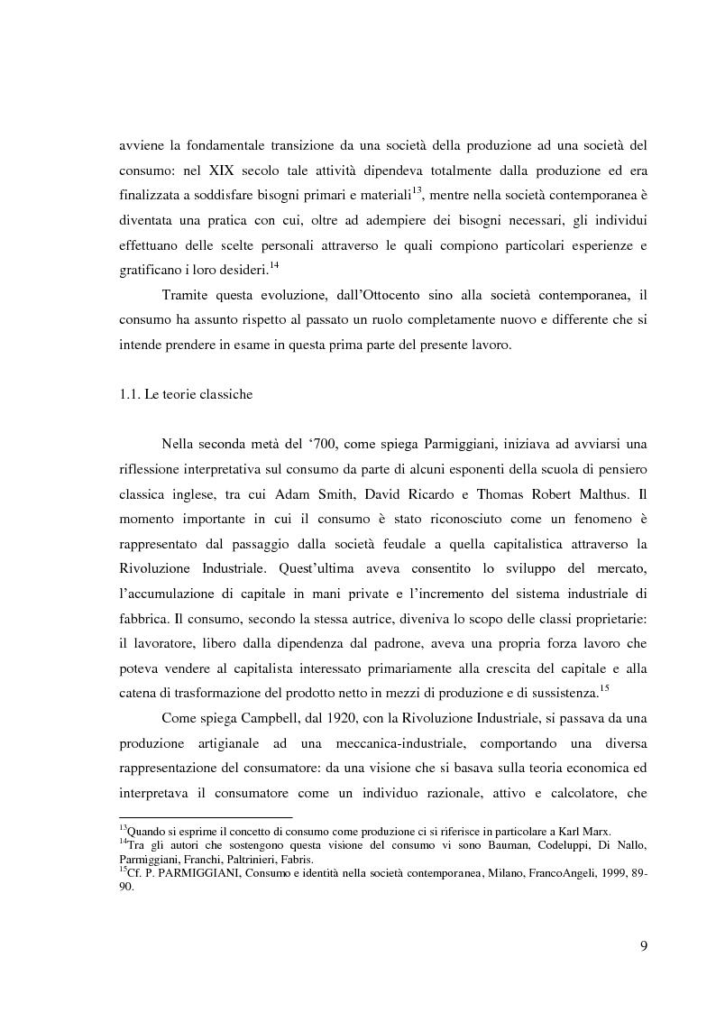 Anteprima della tesi: Le pratiche di consumo degli adolescenti e dei giovani italiani nelle ricerche pubblicate dal 2000 al 2009, Pagina 3