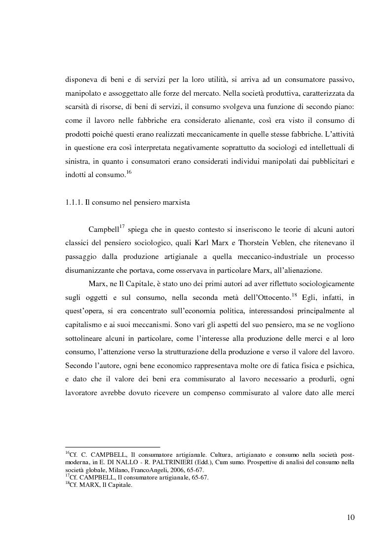 Anteprima della tesi: Le pratiche di consumo degli adolescenti e dei giovani italiani nelle ricerche pubblicate dal 2000 al 2009, Pagina 4