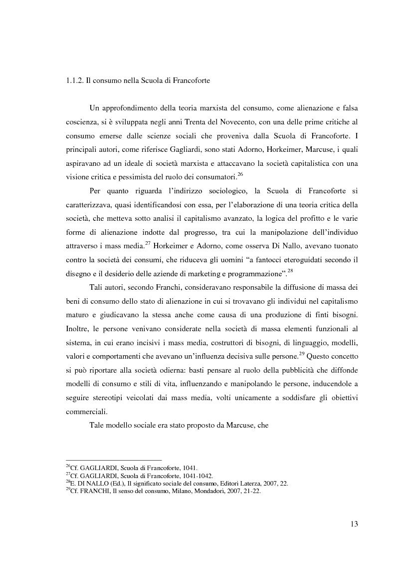 Anteprima della tesi: Le pratiche di consumo degli adolescenti e dei giovani italiani nelle ricerche pubblicate dal 2000 al 2009, Pagina 7