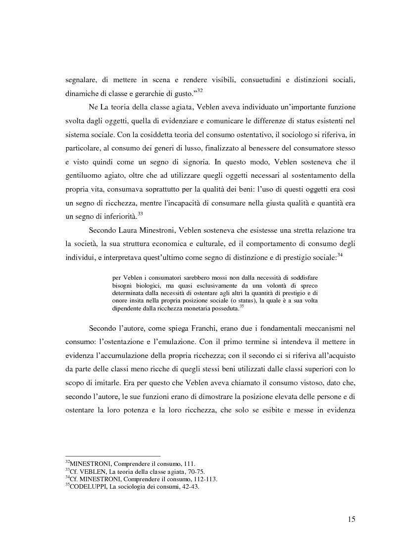 Anteprima della tesi: Le pratiche di consumo degli adolescenti e dei giovani italiani nelle ricerche pubblicate dal 2000 al 2009, Pagina 9