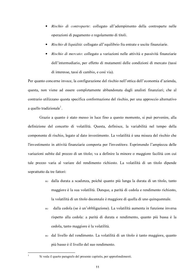 Anteprima della tesi: Modelli per lo studio della volatilità: analisi e applicazioni, Pagina 11