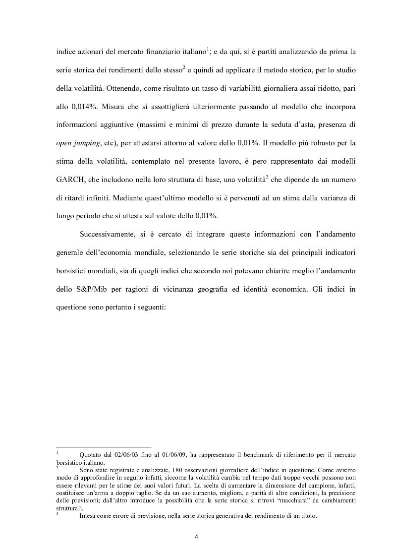 Anteprima della tesi: Modelli per lo studio della volatilità: analisi e applicazioni, Pagina 4