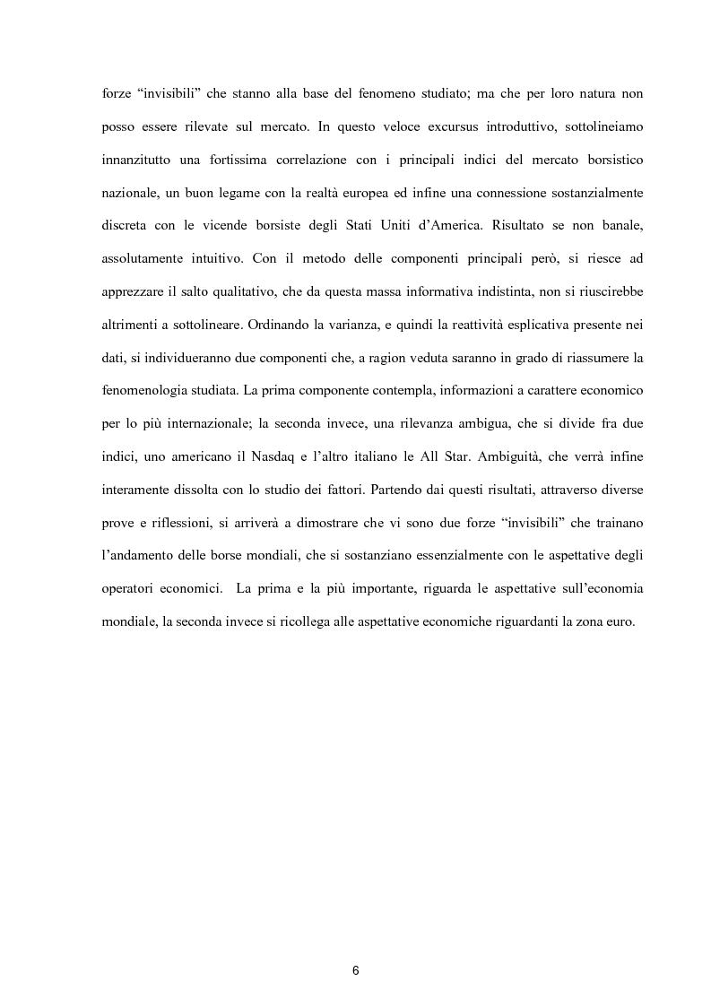 Anteprima della tesi: Modelli per lo studio della volatilità: analisi e applicazioni, Pagina 6