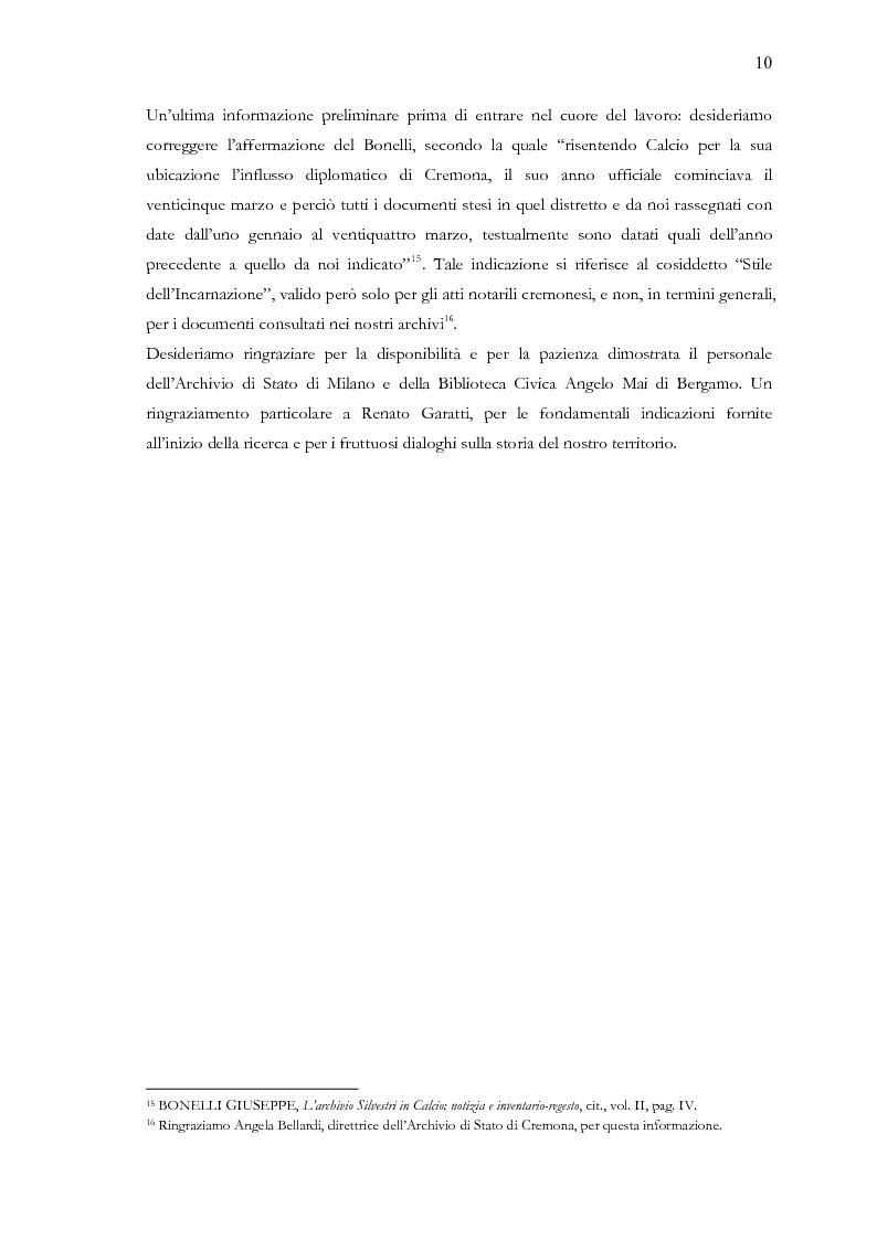 Anteprima della tesi: Una terra separata ai confini del Ducato. Privilegi ed esenzioni della Calciana nel XVIII secolo, Pagina 7