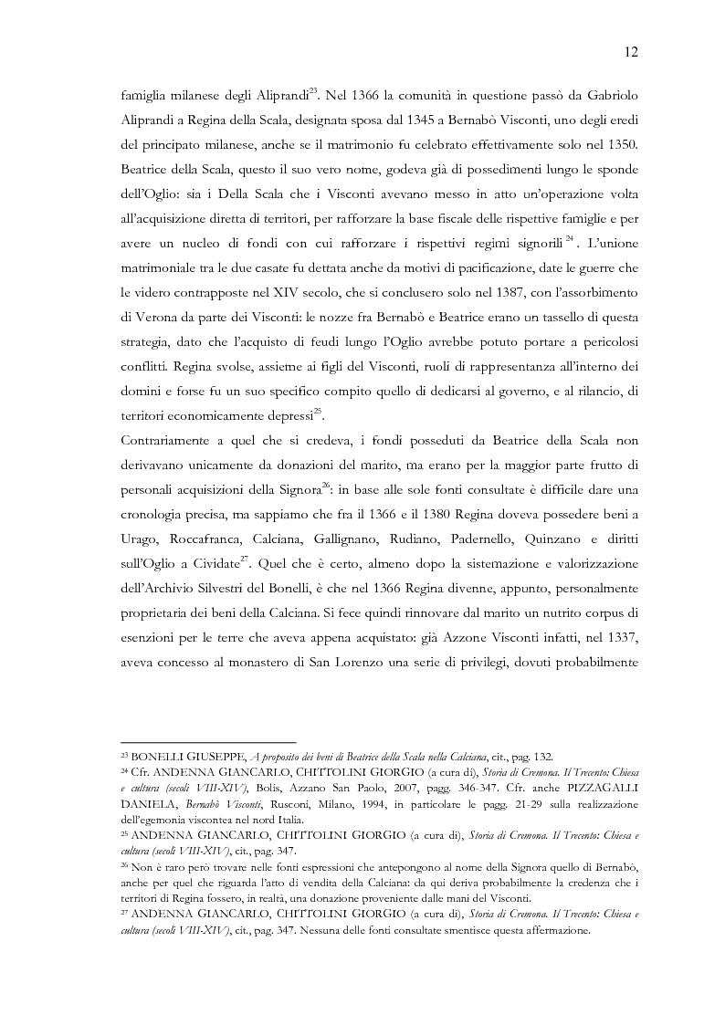 Anteprima della tesi: Una terra separata ai confini del Ducato. Privilegi ed esenzioni della Calciana nel XVIII secolo, Pagina 9