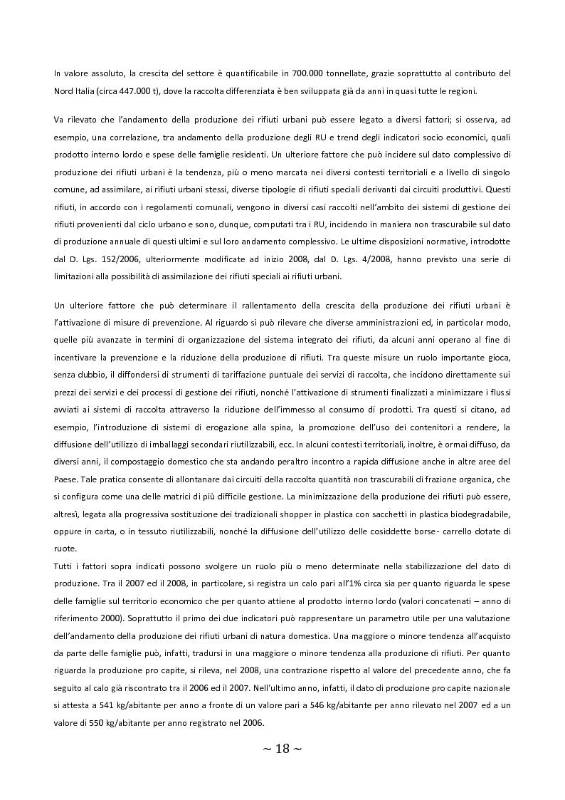 Anteprima della tesi: Trattamento e smaltimento dei Rifiuti Solidi Urbani all'interno del Parco Nazionale del Circeo, Pagina 14