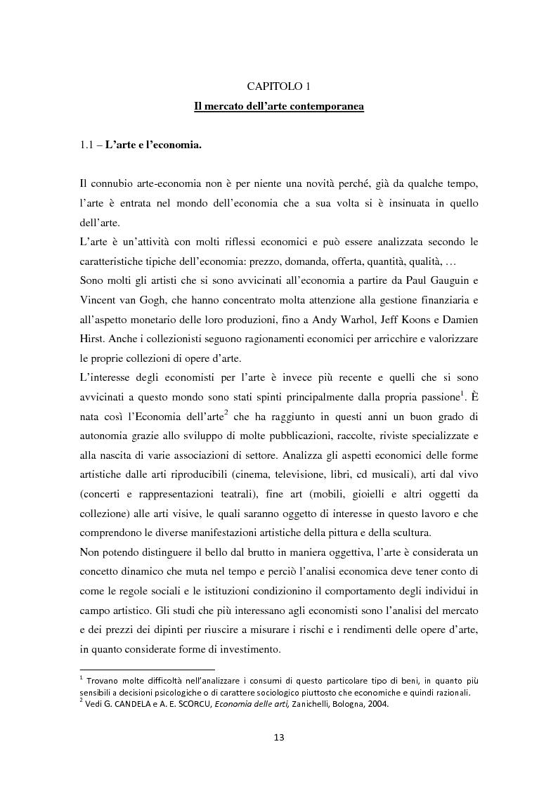 Anteprima della tesi: Investire in Arte Contemporanea, Pagina 10
