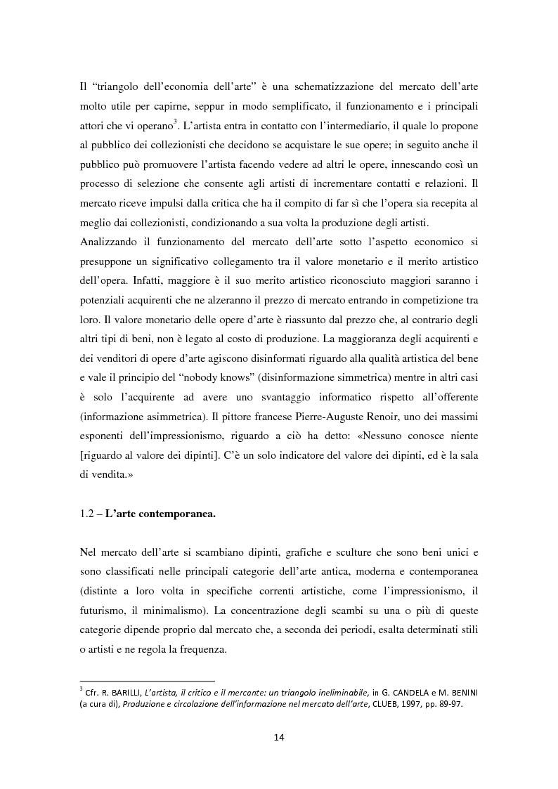 Anteprima della tesi: Investire in Arte Contemporanea, Pagina 11