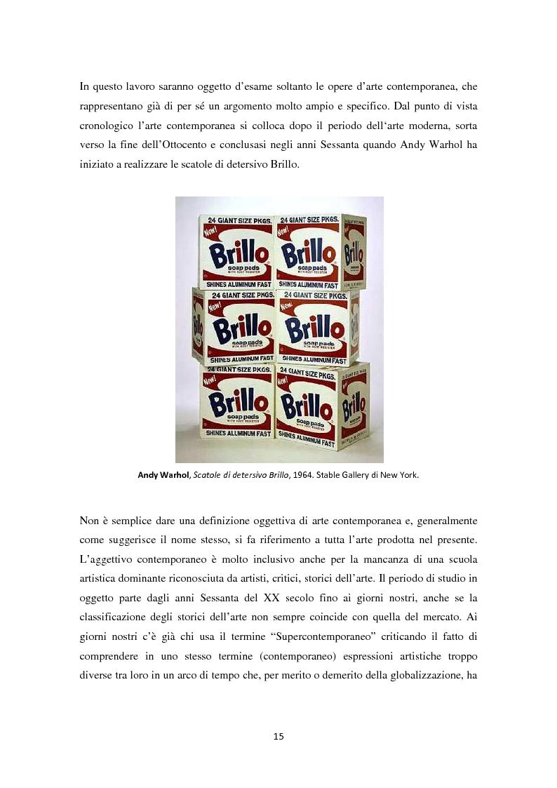 Anteprima della tesi: Investire in Arte Contemporanea, Pagina 12