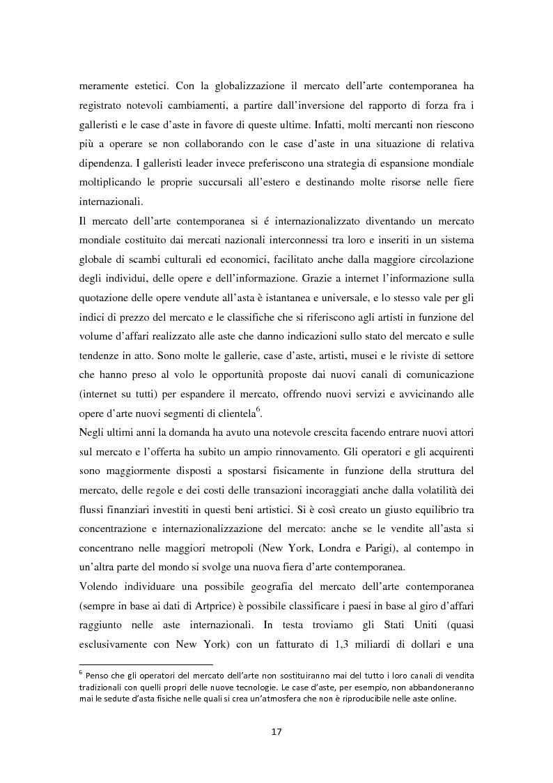 Anteprima della tesi: Investire in Arte Contemporanea, Pagina 14