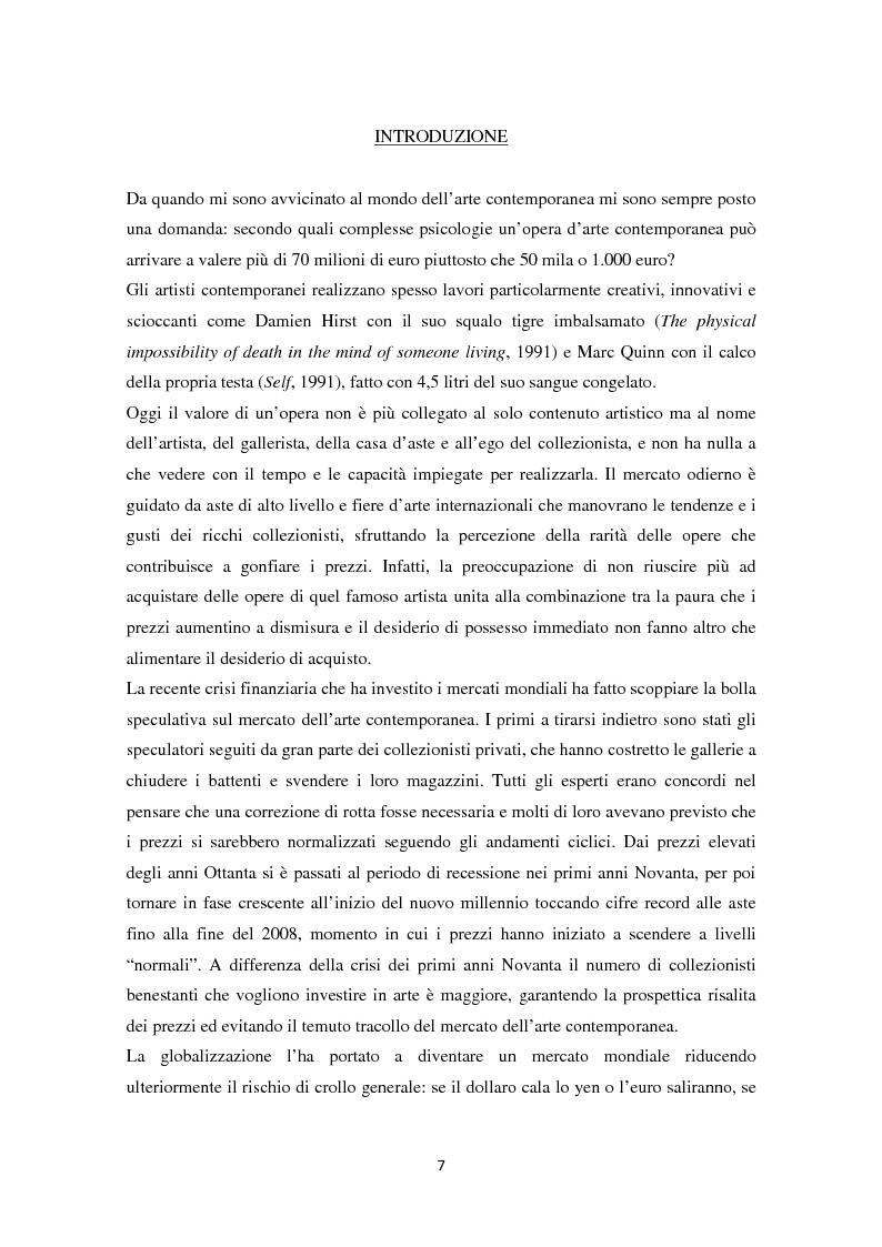 Anteprima della tesi: Investire in Arte Contemporanea, Pagina 4
