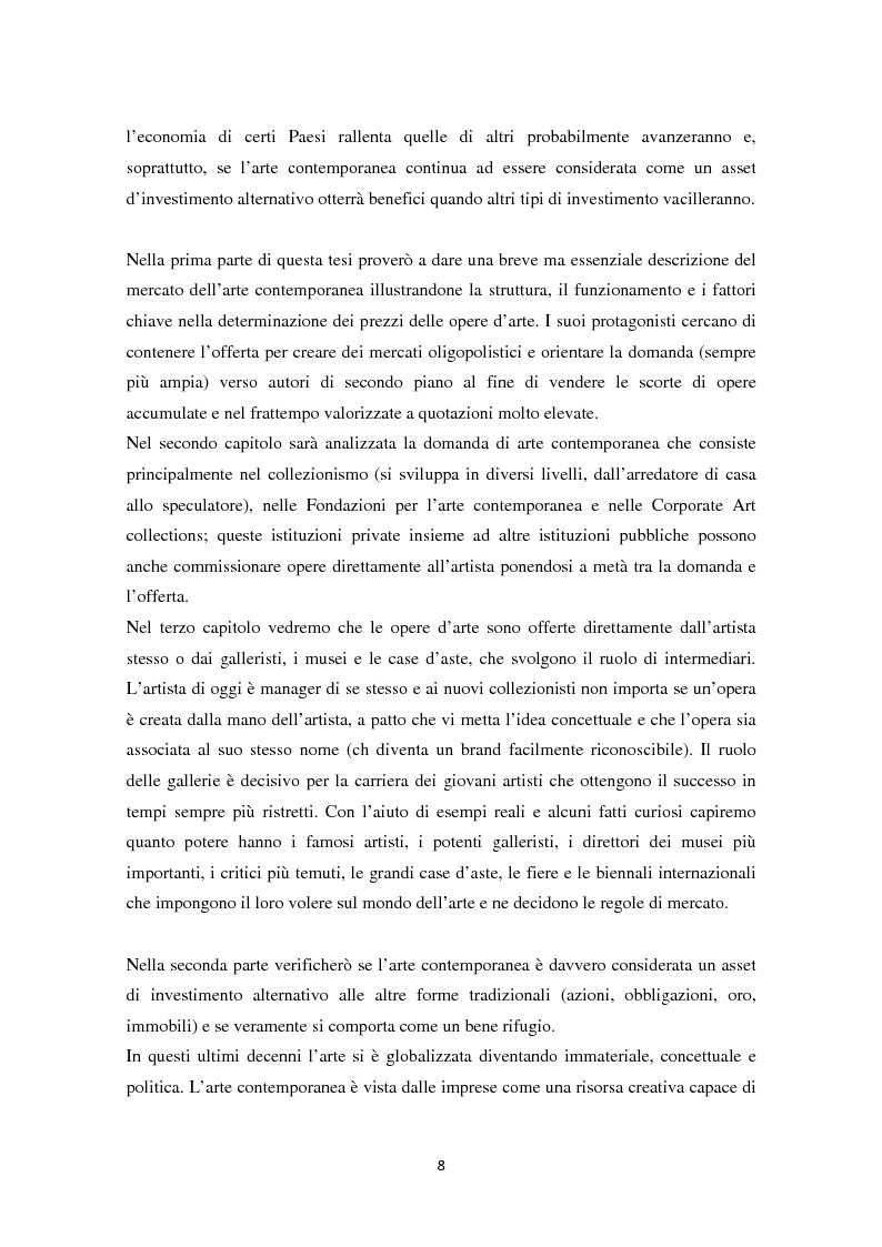Anteprima della tesi: Investire in Arte Contemporanea, Pagina 5