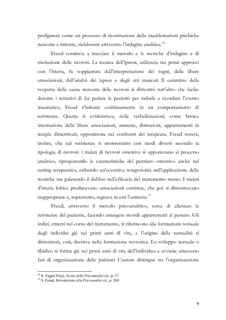 Anteprima della tesi: Disturbi d'ansia: diagnosi e terapia psicologica, Pagina 10