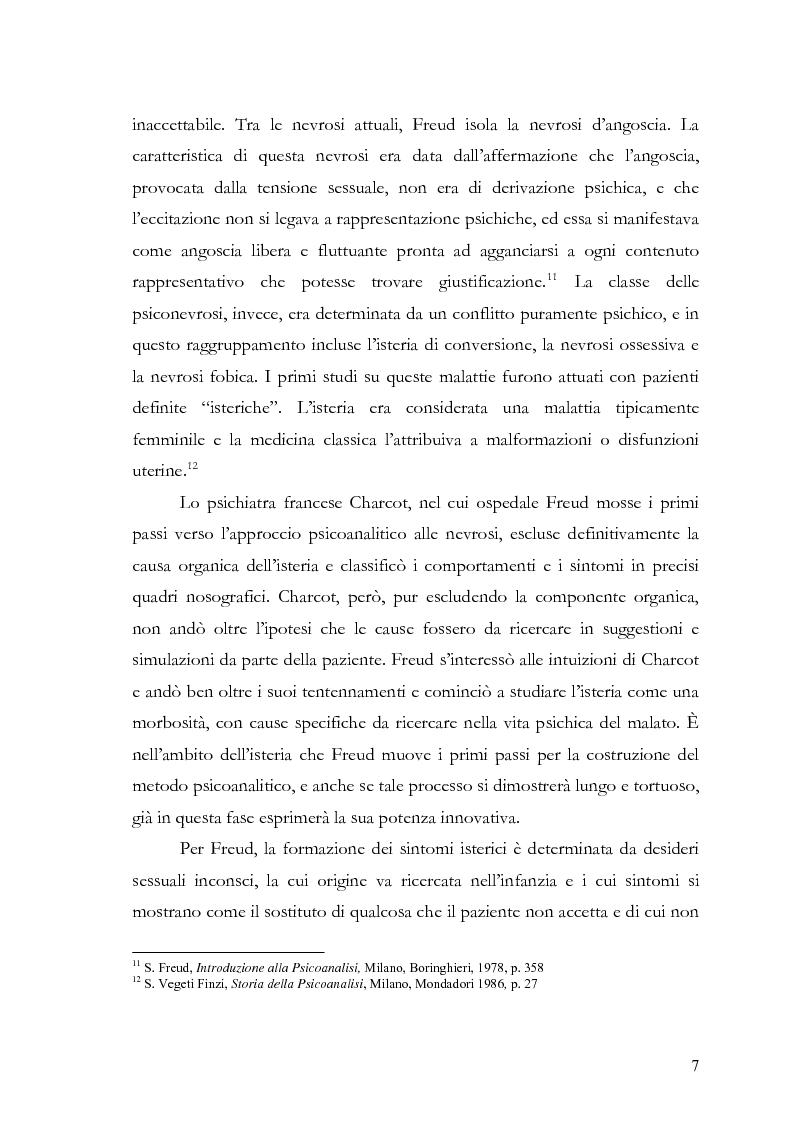 Anteprima della tesi: Disturbi d'ansia: diagnosi e terapia psicologica, Pagina 8