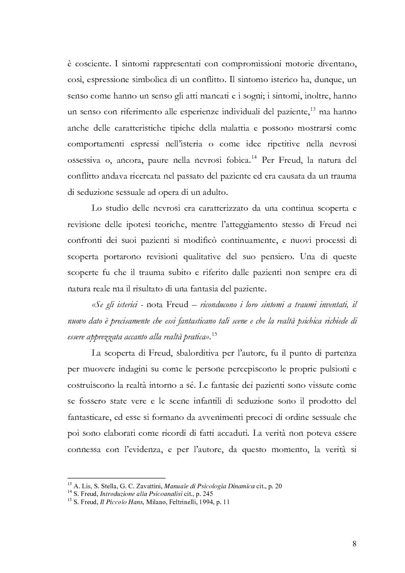 Anteprima della tesi: Disturbi d'ansia: diagnosi e terapia psicologica, Pagina 9