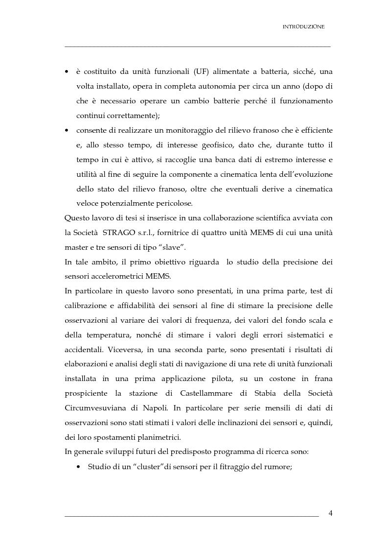 Anteprima della tesi: Validazione di un sistema di sensori di spostamenti per il monitoraggio delle frane, Pagina 5
