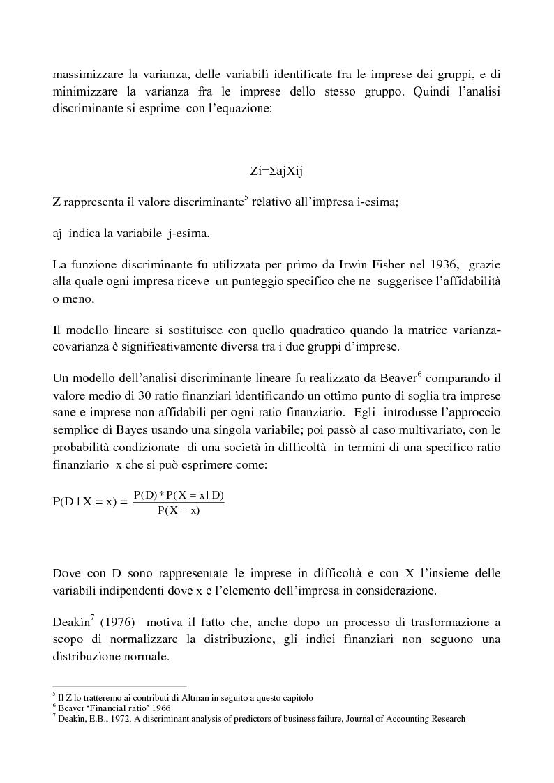 Anteprima della tesi: Procedure di Rating. Punti di forza e punti di debolezza, Pagina 5