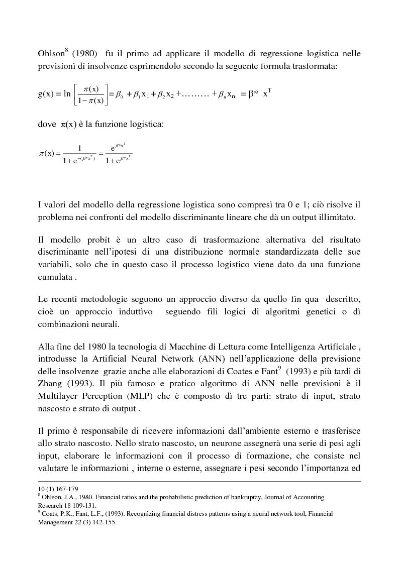 Anteprima della tesi: Procedure di Rating. Punti di forza e punti di debolezza, Pagina 6