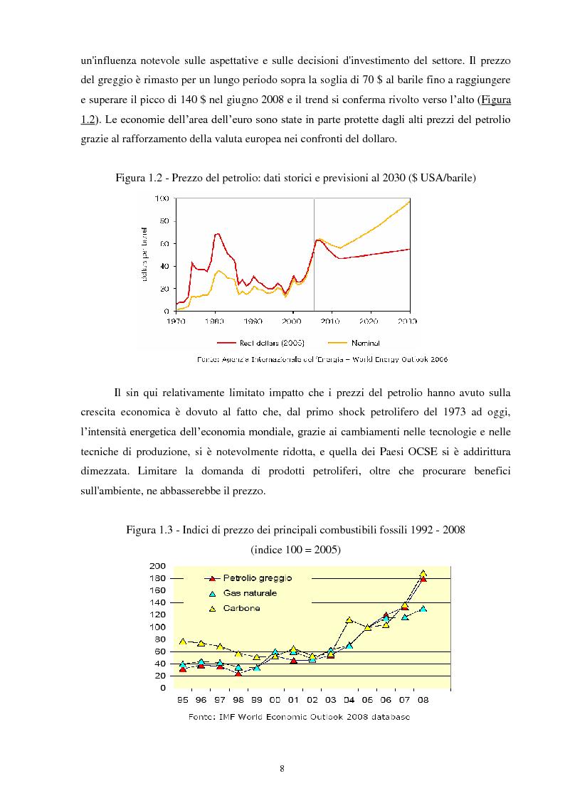 Anteprima della tesi: Le fonti energetiche rinnovabili: un'opportunità di crescita, Pagina 5