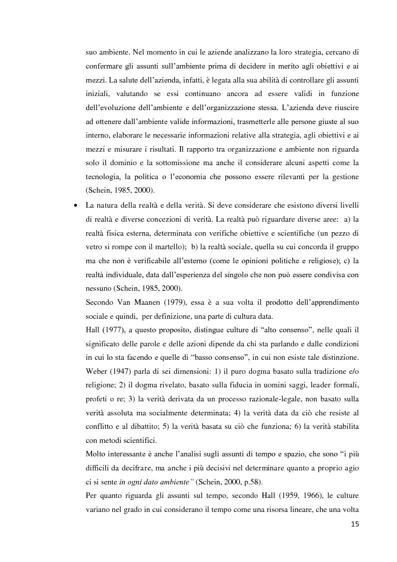Anteprima della tesi: Il ruolo della cultura organizzativa nel goal setting di gruppo in un contesto bancario, Pagina 10