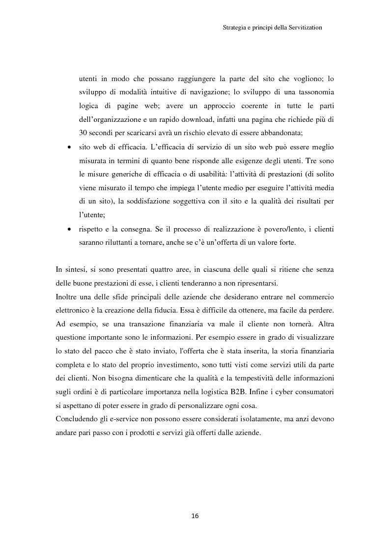 Estratto dalla tesi: Valore per il cliente e riprogettazione della service-chain: un'applicazione nel settore dell'elettrodomestico bianco.