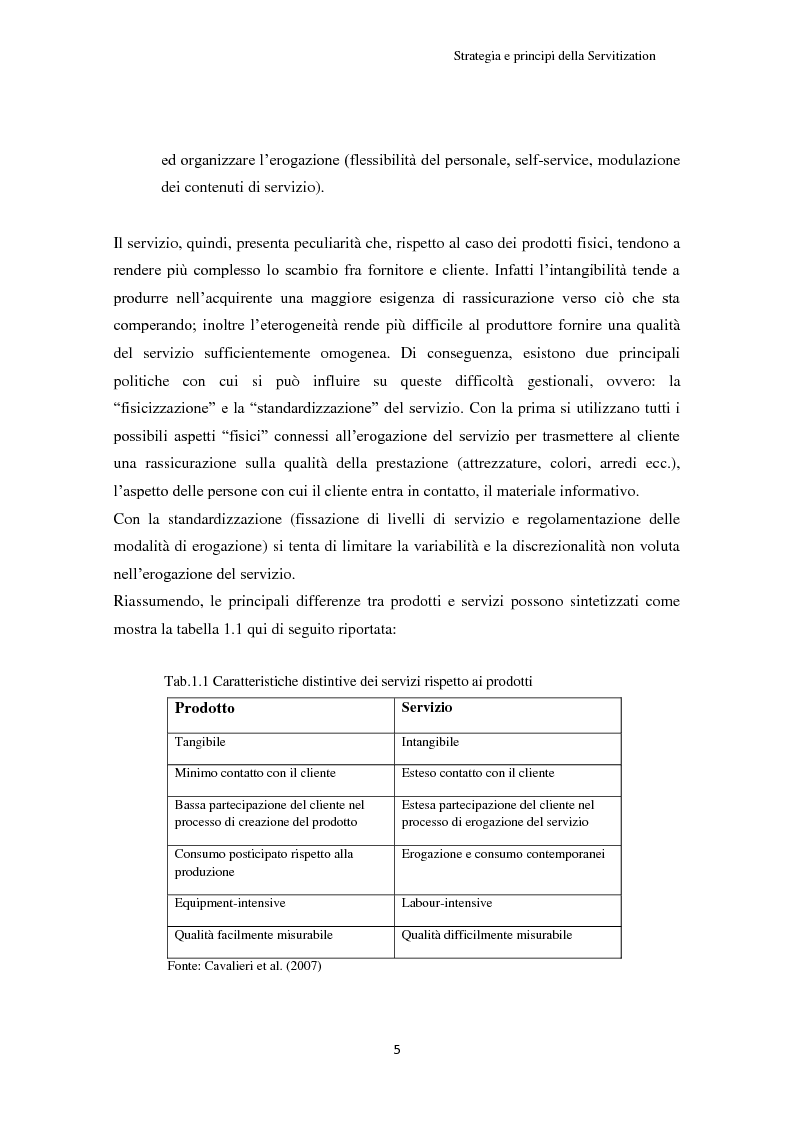 Anteprima della tesi: Valore per il cliente e riprogettazione della service-chain: un'applicazione nel settore dell'elettrodomestico bianco., Pagina 10