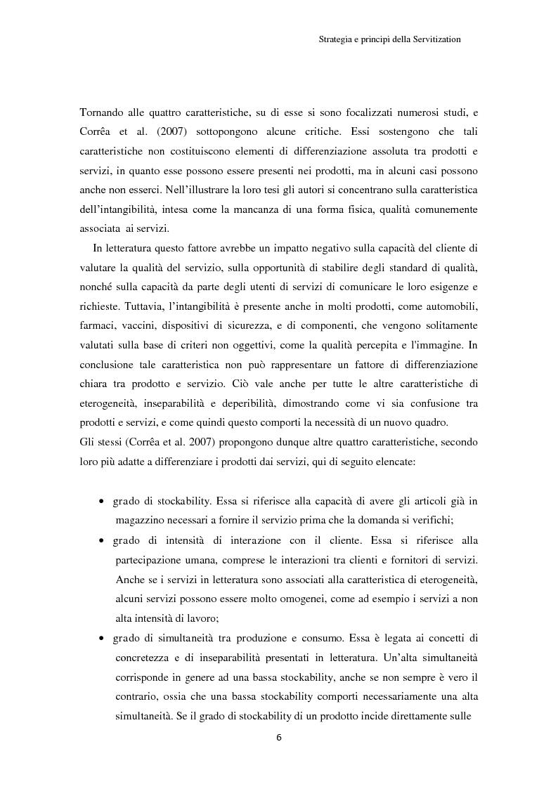 Anteprima della tesi: Valore per il cliente e riprogettazione della service-chain: un'applicazione nel settore dell'elettrodomestico bianco., Pagina 11