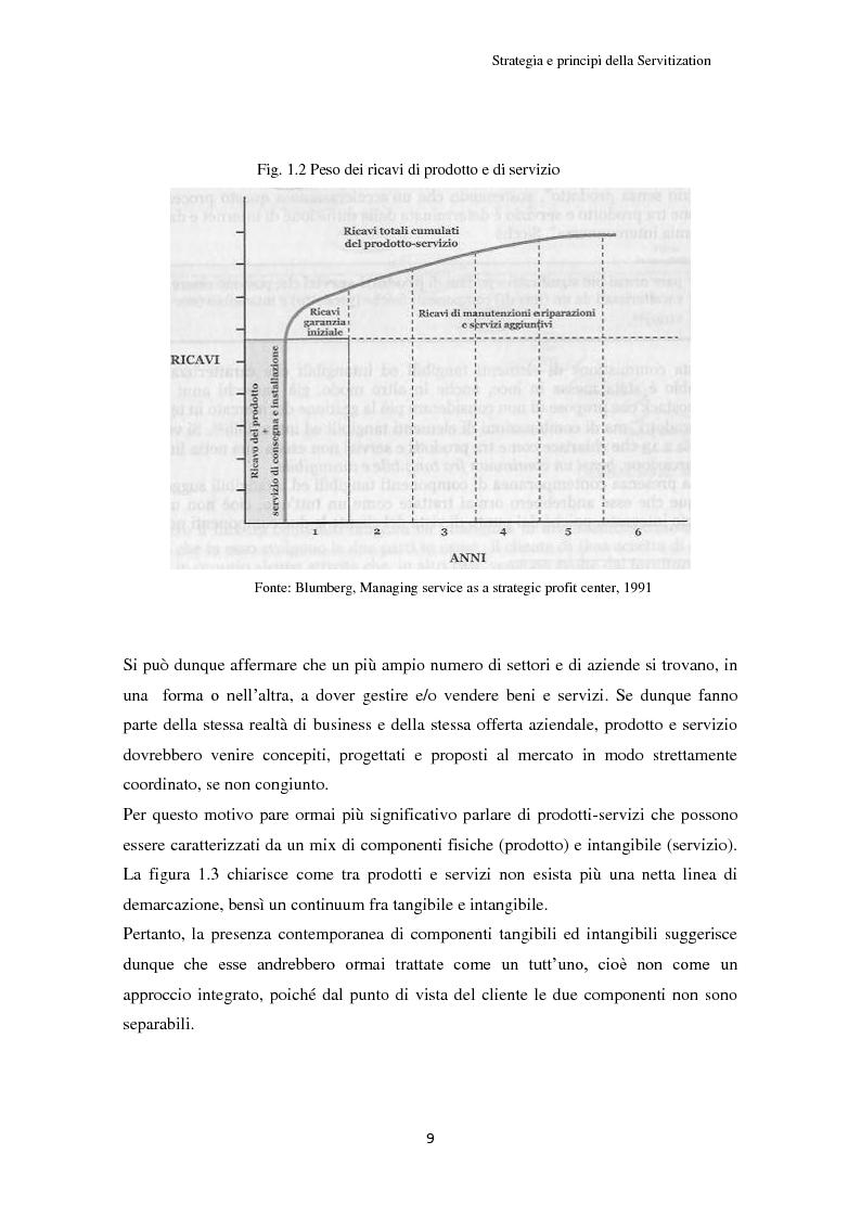 Anteprima della tesi: Valore per il cliente e riprogettazione della service-chain: un'applicazione nel settore dell'elettrodomestico bianco., Pagina 14