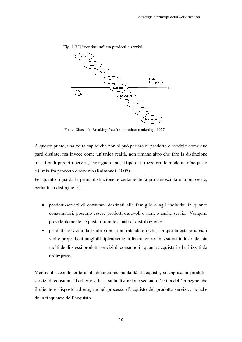 Anteprima della tesi: Valore per il cliente e riprogettazione della service-chain: un'applicazione nel settore dell'elettrodomestico bianco., Pagina 15