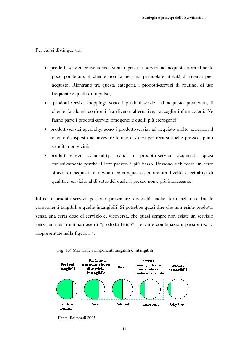 Anteprima della tesi: Valore per il cliente e riprogettazione della service-chain: un'applicazione nel settore dell'elettrodomestico bianco., Pagina 16