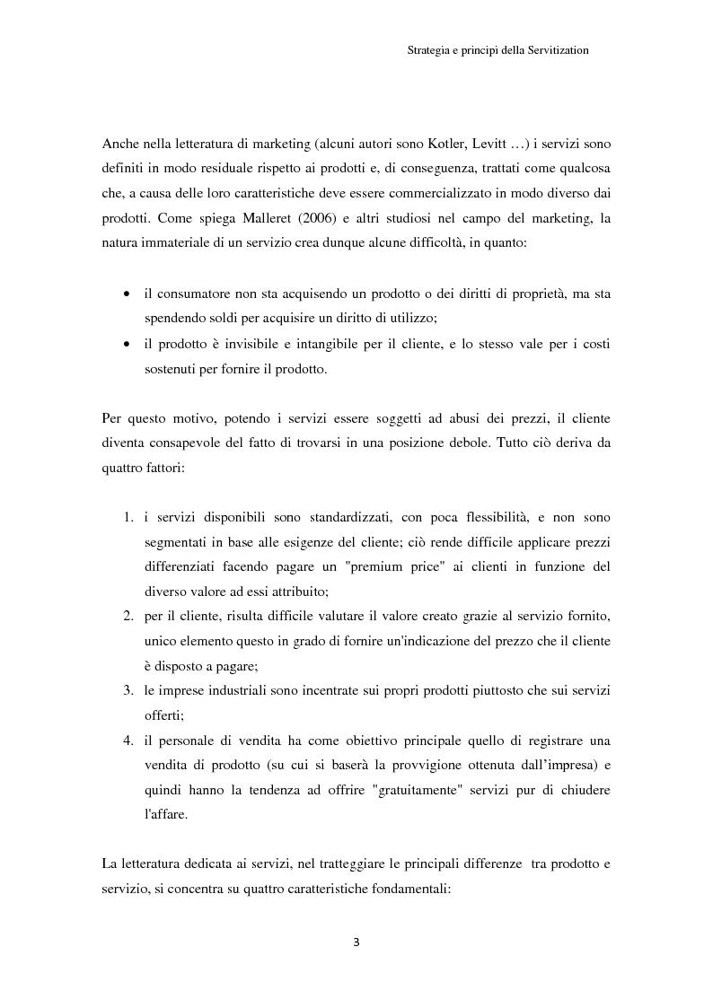 Anteprima della tesi: Valore per il cliente e riprogettazione della service-chain: un'applicazione nel settore dell'elettrodomestico bianco., Pagina 8