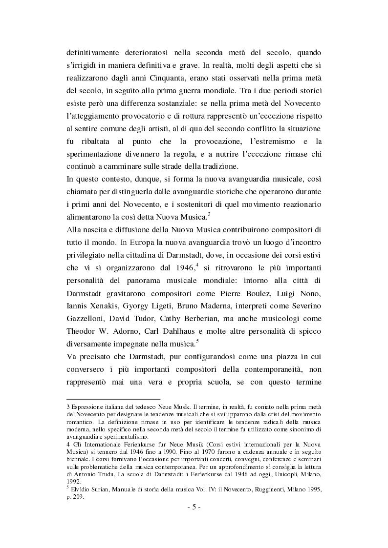 """Anteprima della tesi: Genesi, sviluppo e diffusione del software """"Music N"""" nella storia della composizione informatica., Pagina 11"""
