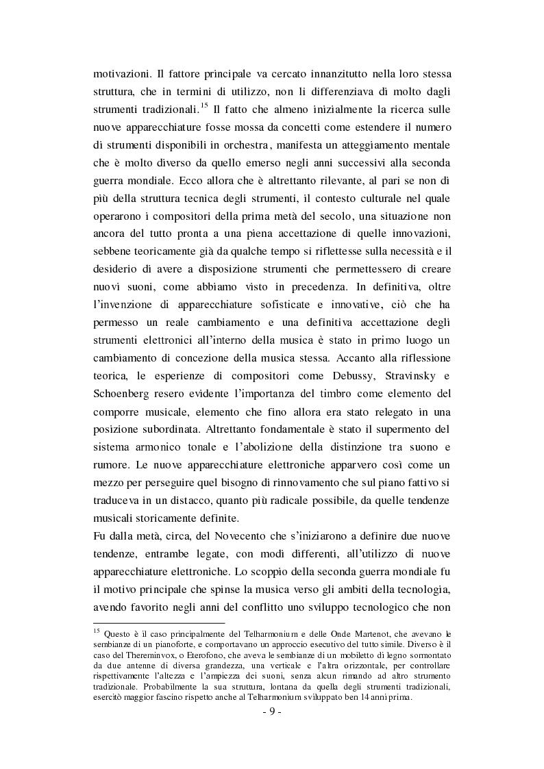 """Anteprima della tesi: Genesi, sviluppo e diffusione del software """"Music N"""" nella storia della composizione informatica., Pagina 15"""