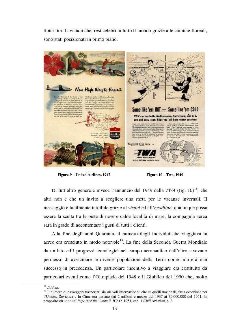 Anteprima della tesi: La comunicazione pubblicitaria delle compagnie aeree. Il caso Alitalia, Pagina 10