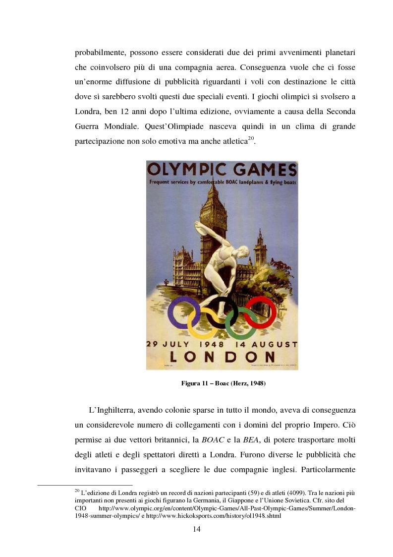 Anteprima della tesi: La comunicazione pubblicitaria delle compagnie aeree. Il caso Alitalia, Pagina 11