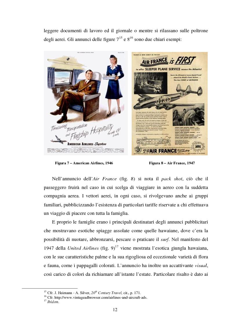 Anteprima della tesi: La comunicazione pubblicitaria delle compagnie aeree. Il caso Alitalia, Pagina 9
