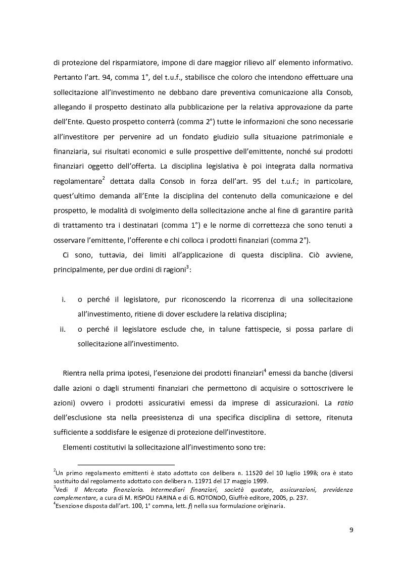 Anteprima della tesi: I prodotti assicurativi-finanziari, tra investimento, risparmio, previdenza. Profili giuridici, Pagina 5