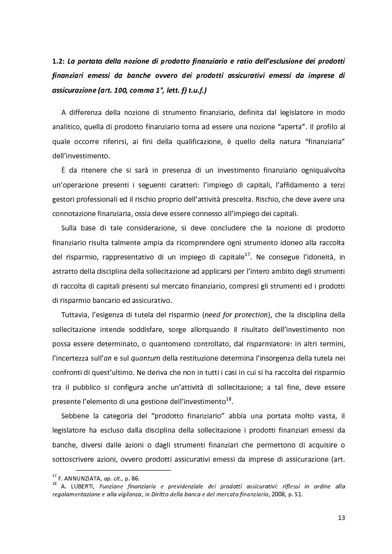 Anteprima della tesi: I prodotti assicurativi-finanziari, tra investimento, risparmio, previdenza. Profili giuridici, Pagina 9