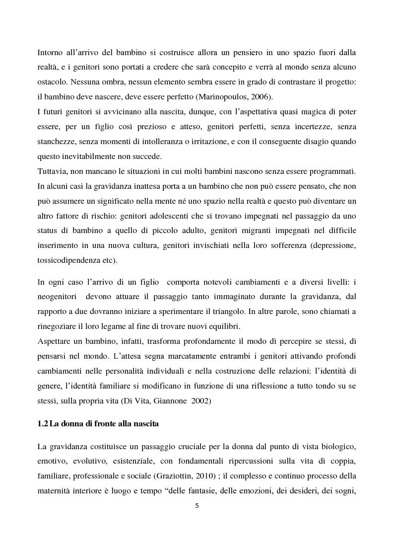 Anteprima della tesi: Il sostegno alla neo-genitorialità nei Centri per le Famiglie: l'esperienza di Spazio Cicogna, Pagina 3