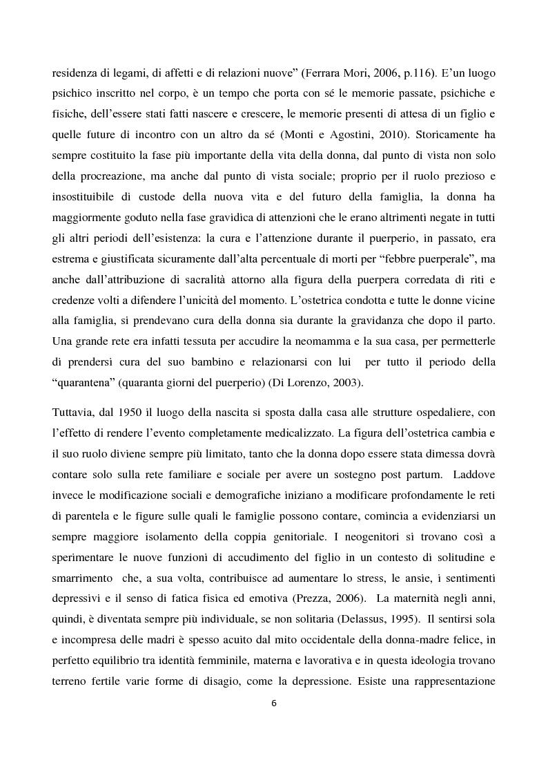 Anteprima della tesi: Il sostegno alla neo-genitorialità nei Centri per le Famiglie: l'esperienza di Spazio Cicogna, Pagina 4