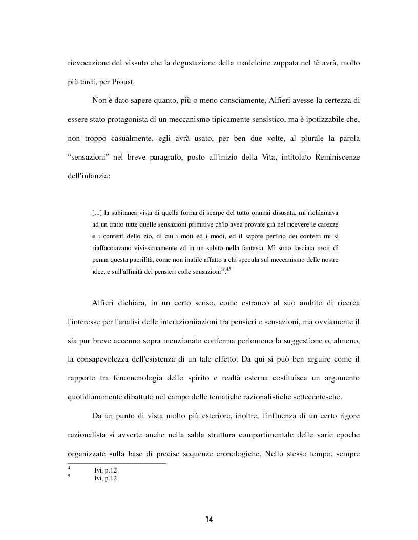 Anteprima della tesi: Le voci dell'Io. Autobiografia e automitografia nell'opera di Vittorio Alfieri, Pagina 11